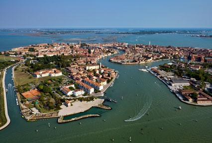 Murano Island in Italy
