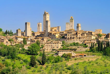 San Gimignano Town in Italy