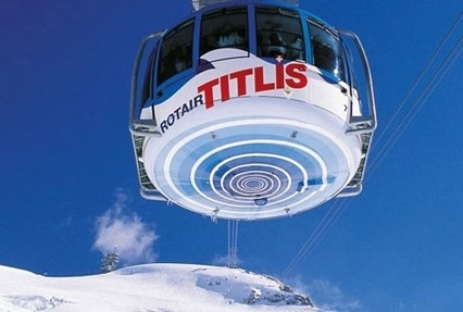 revolving cable car mt titlis