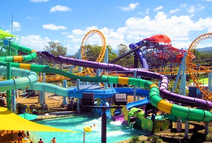 DreamWorld theme park in Gold Coast