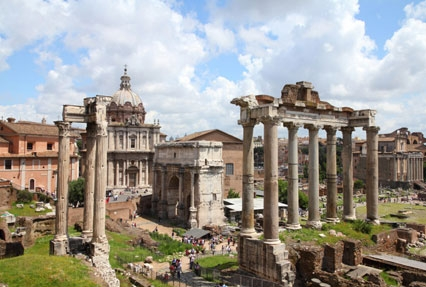 Roman Forum Historical place in Rome, Italy
