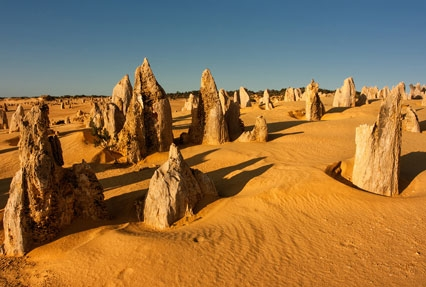 The Pinnacles in Nambung, Australia