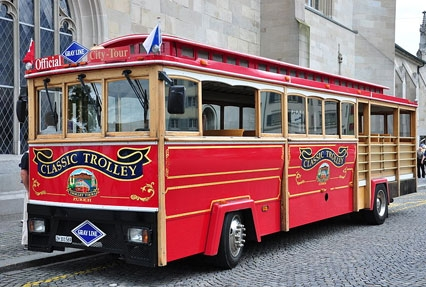 Enjoy Zurich Trolley Tour