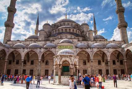 Sultan Ahmed Mosque Mosque in Istanbul Turkey