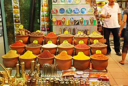 popular Spice market of Istanbul