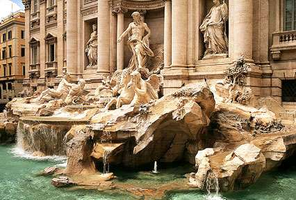 Trevi Fountain Fountain in Rome, Italy