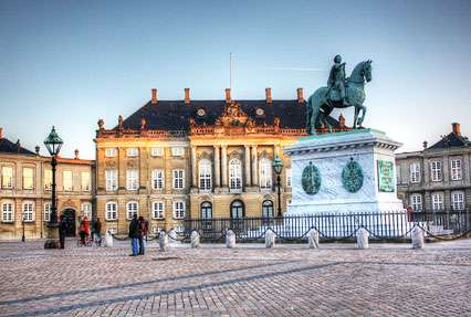 Amalienborg Home in Copenhagen, Kingdom of Denmark