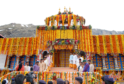 Badrinath dham yatra by helicopter