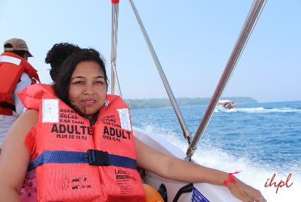 parasailing in andaman