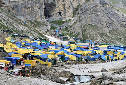 Base Camp for Amarnath Yatra
