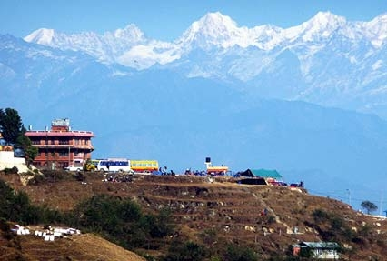 Nagarkot Village in Nepal