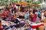 flea market at anjuna beach goa