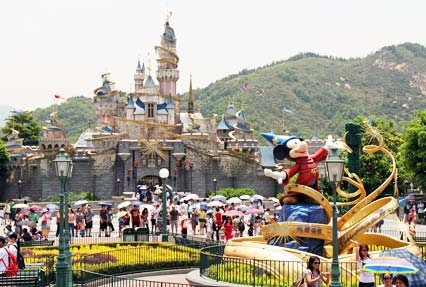 Disneyland Amusement Park