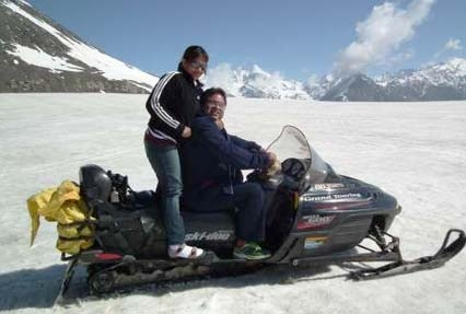 Snow Scooter at Rohtang