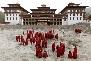 Tashichho Dzong Monastery in Bhutan