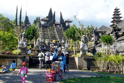 Pura Besakih Hindu temple in Indonesia