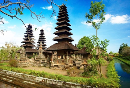 Pura Taman Ayun Hindu temple in Indonesia