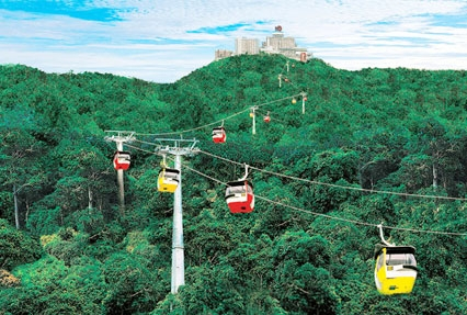 genting highland and batu caves
