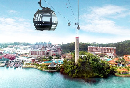 singapore sentosa cable cars