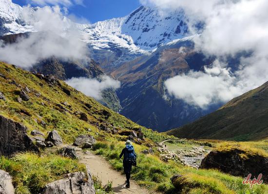 Annapurna Sanctuary Plateau in Nepal