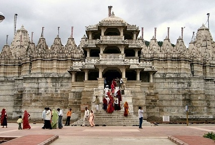 Dilwara Jain temple in Mt. Abu