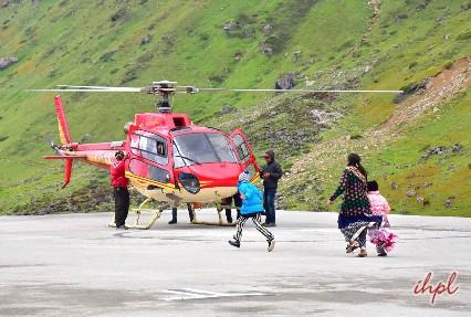 Amarnath helicopter yatra from pahalgam
