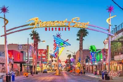 Fremont Street Las Vegas Valley