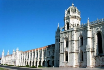 Jerónimos Monastery in Lisbon, Portugal