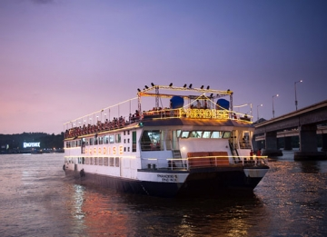 Embark on the Mandovi River Sunset Cruise