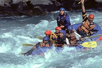 Rafting on ganga River