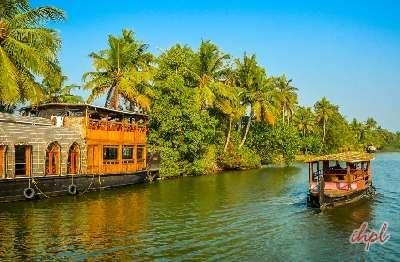 Kerala Backwater in Alleppey