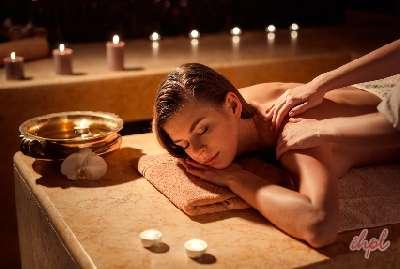 Massage at Coconut Lagoon at Marari Beach Kerala