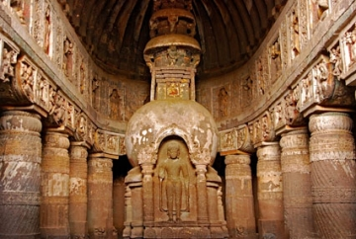 Ajanta and Ellora Caves, Maharashtra