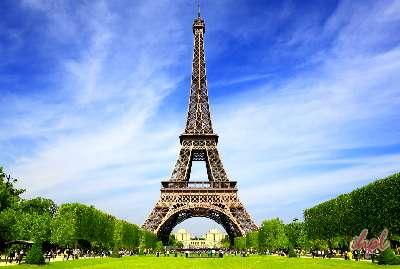 Eiffel Tower Night View- Paris with Disneyland Tour