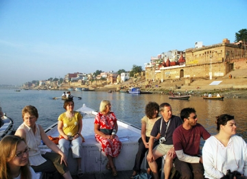 Boat Ride in Ganges River