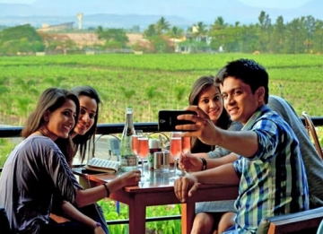 Sightsee the Sula Vineyards
