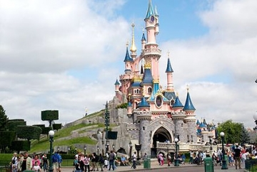 Disneyland during Switzerland and Paris Tour