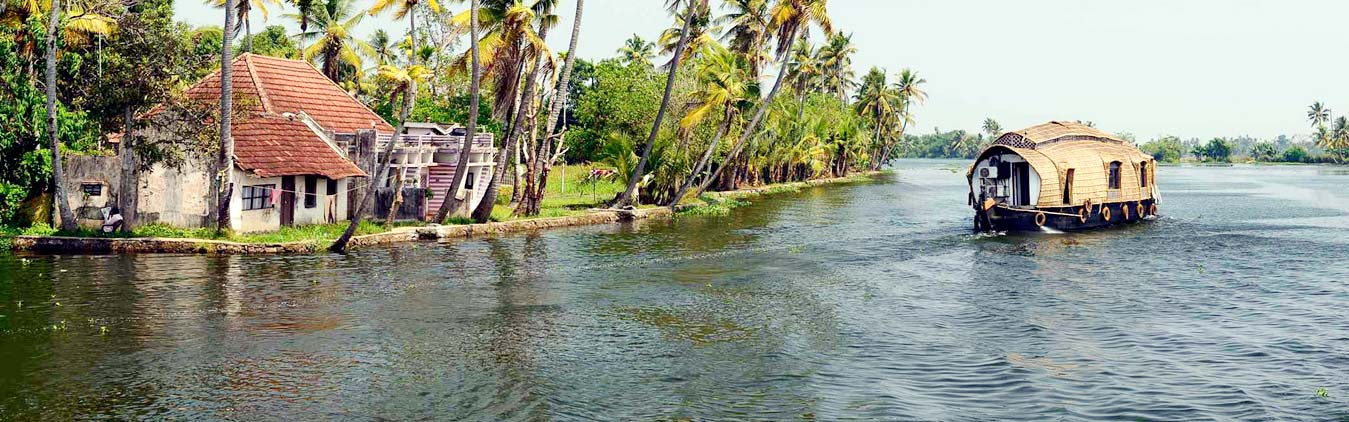 Majestic Kerala Backwaters
