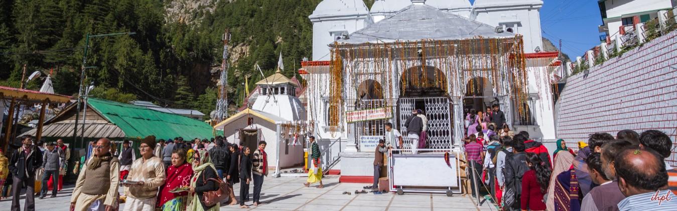 Gangotri temple