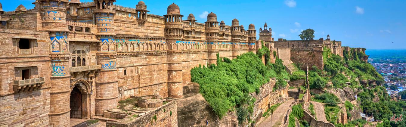 Gwalior Fort - Tourist attractions of Madhya Pradesh