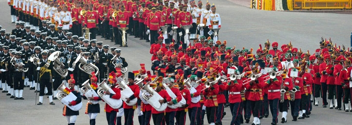Beating the Retreat Ceremony, festival in delhi