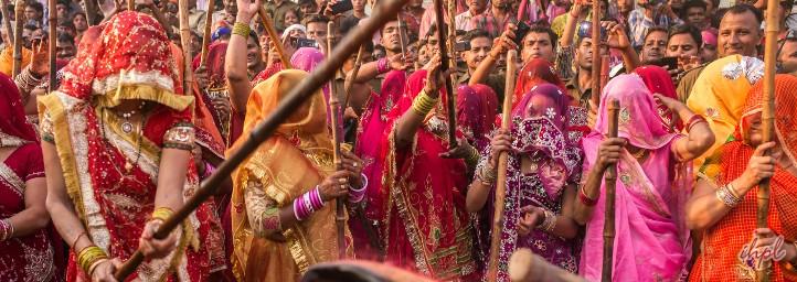 Holi festival in Gujarat