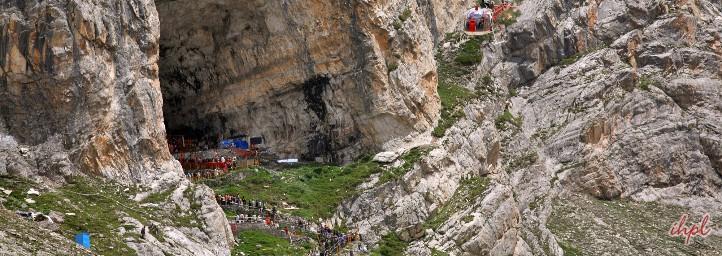 Amarnath Yatra cave
