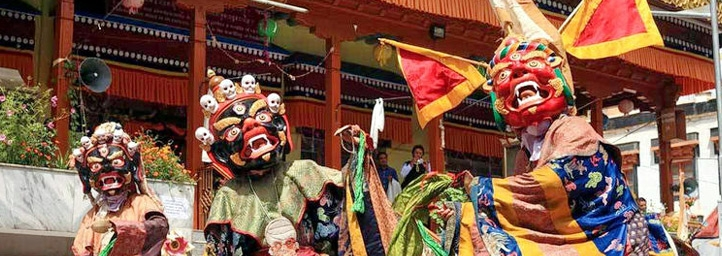 Losar Celebrations festival in Ladakh