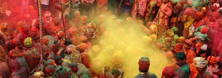 Holi festival in uttar pradesh
