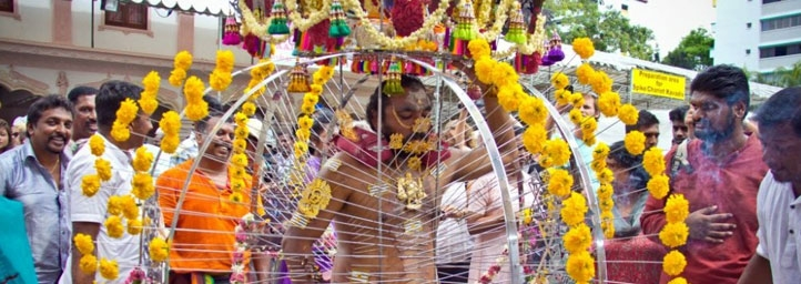 festival in tamil nadu, Thaipusam