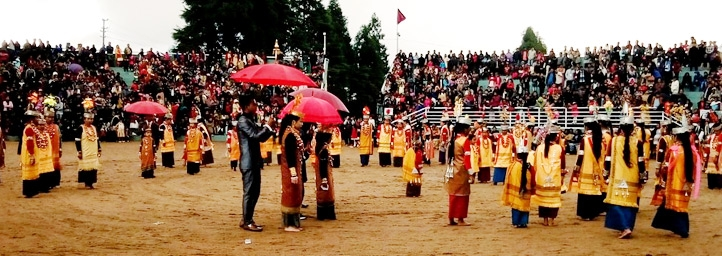 Nongkrem Dance, festival in meghalaya