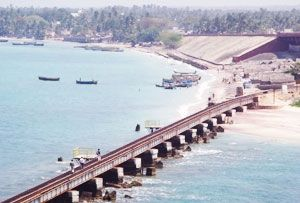 Adam's Bridge, Rameswaram