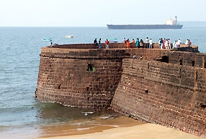 Aguada Fort Goa , India