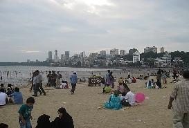 Chowpatty Beach, Mumbai